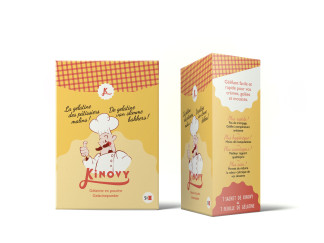 Packaging design Kinovy branding